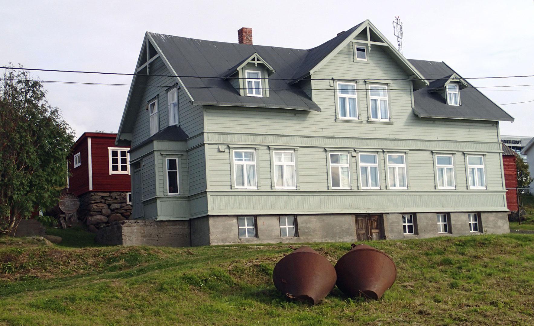 Bolighuset til Bietilægården i Vadsø. Foto: Siri Wolland Riksantikvaren
