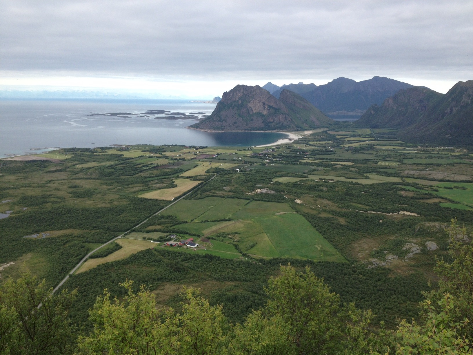 Engeløya i Steigen i Nordland. Fotograf: Berit A. Staurbakk