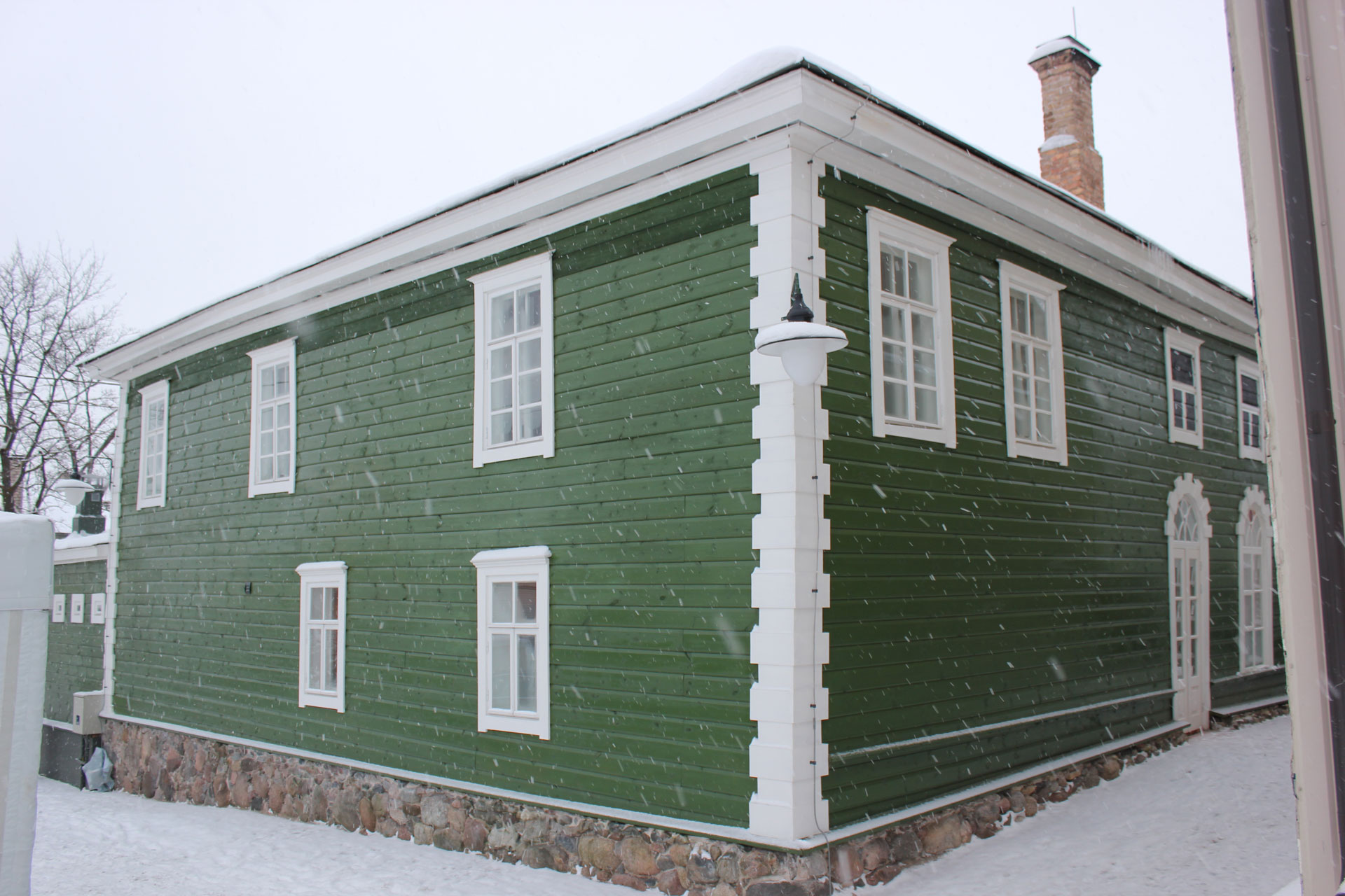 ETTER: Den grønne synagogen i januar 2016. Foto: Turid Årsheim Riksantikvaren