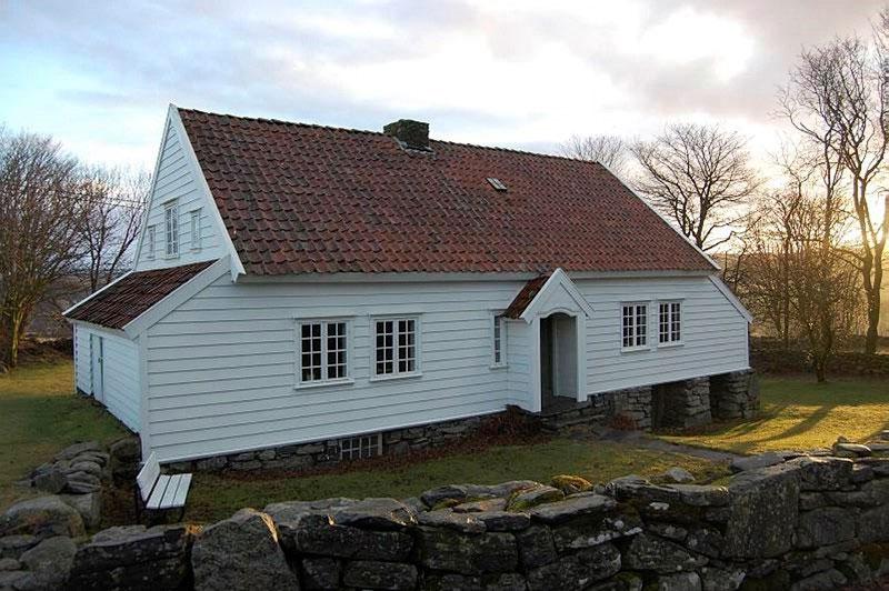 Tradisjonelt hus fra Jæren (Garborgheimen). Foto: Guro Skjelstad © Riksantikvaren