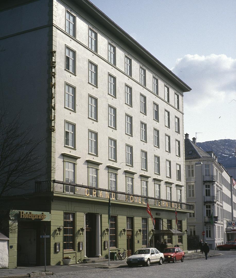 Grand Hotell Terminus Bergen. Foto: Brit Kyrkjebø