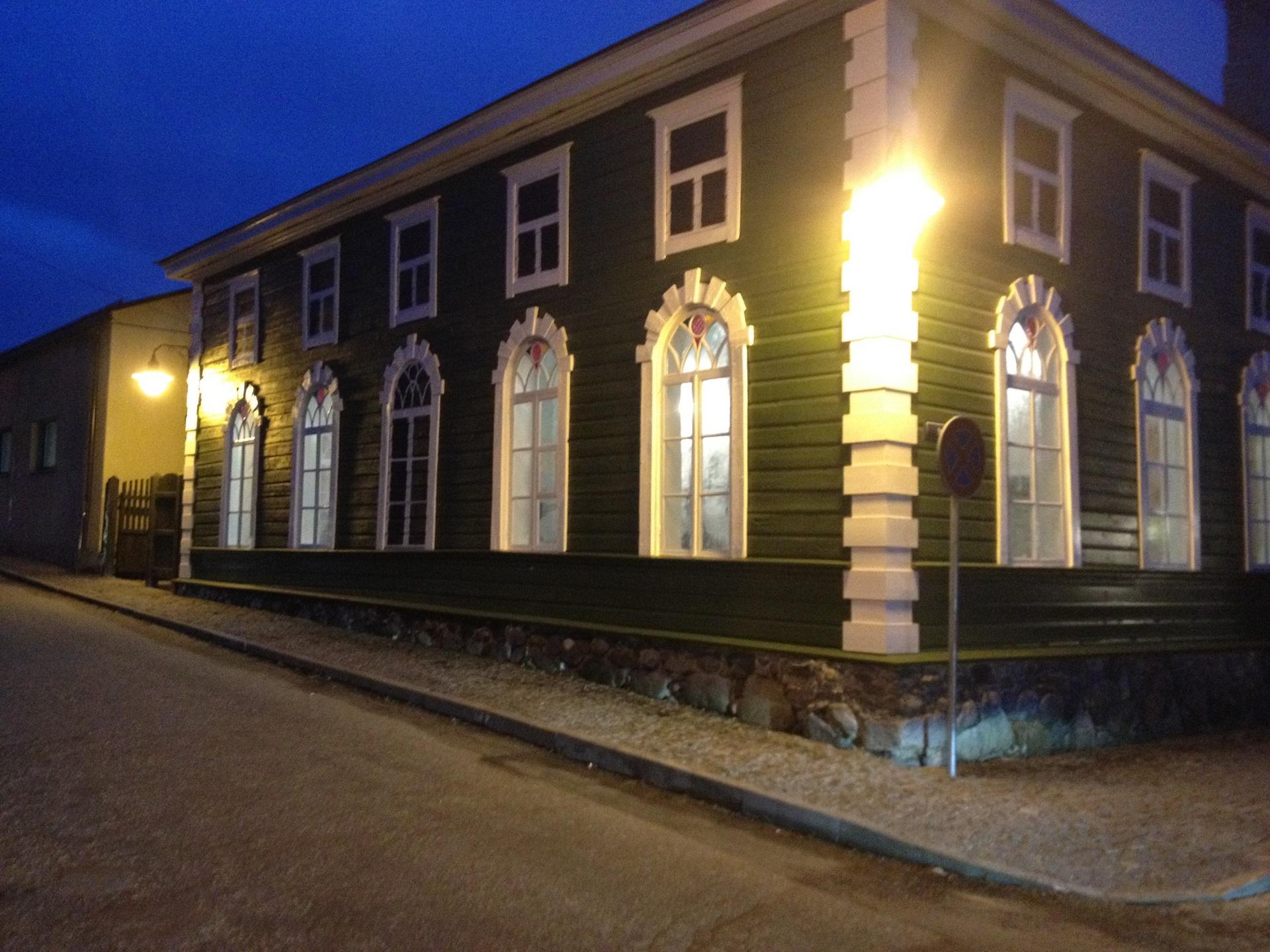 Den Grønne Synagoge i november 2015. Foto: Rezekne kommune