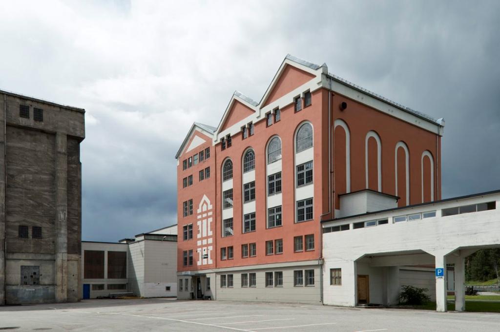 Hydroparken Notodden Kalksalpeterfabrikken. Foto: Per Berntsen