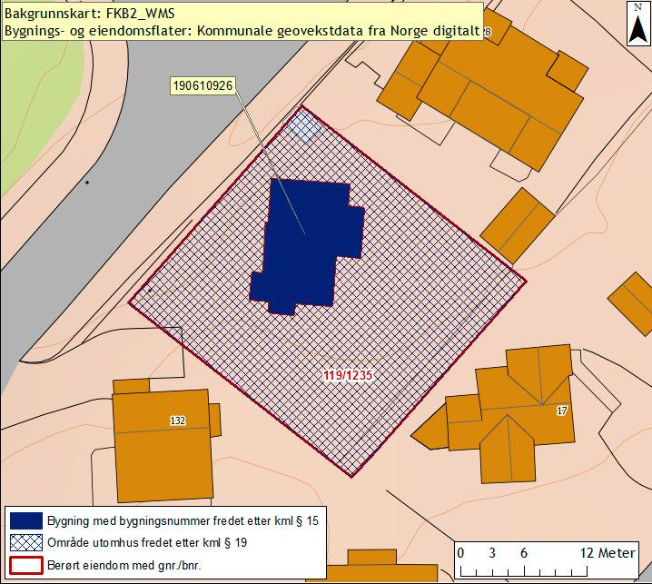Kart Kirsten Sands Hus