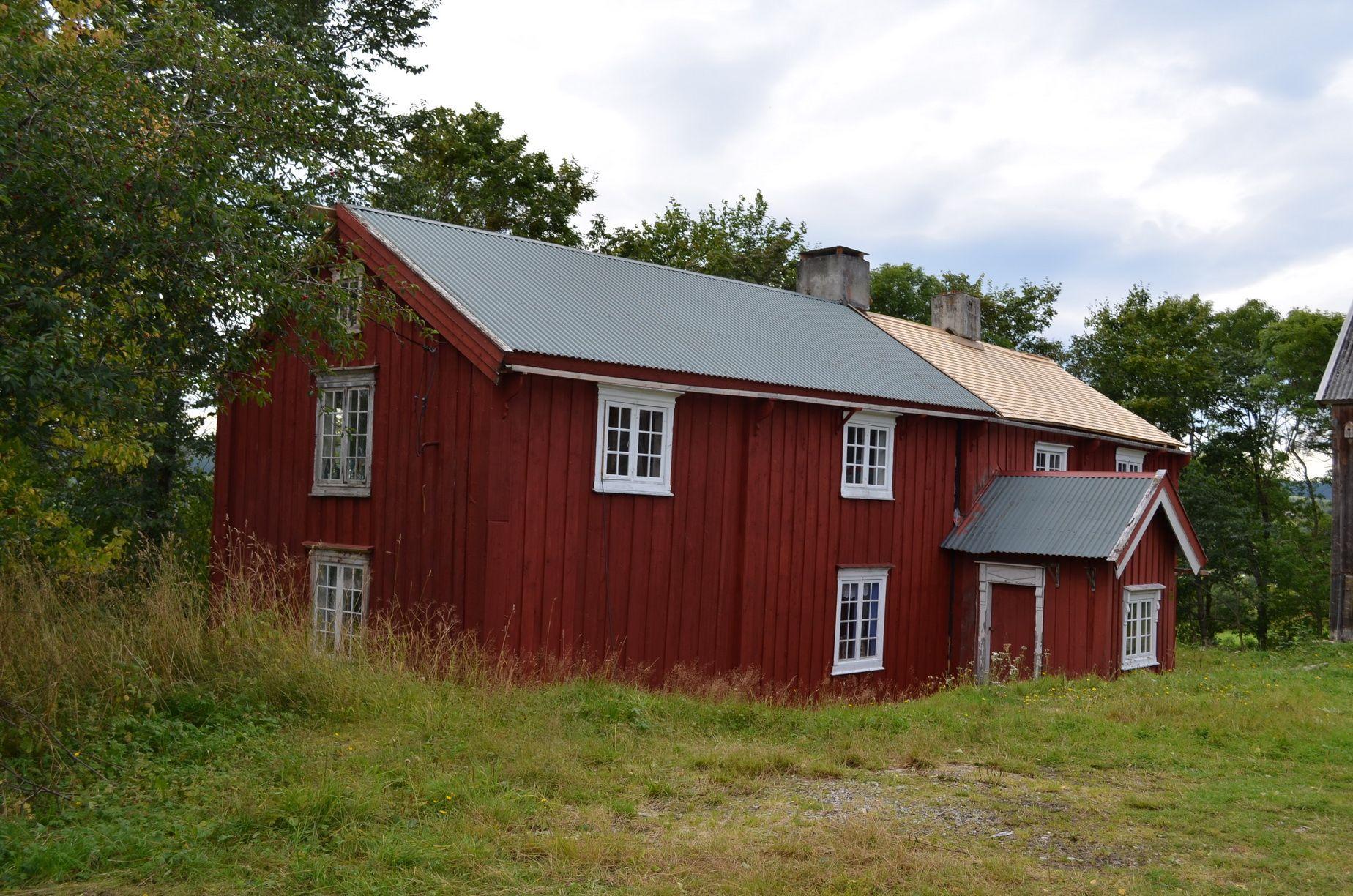 Killingberg Mellom Leksvik i Nord-Trøndelag. Foto: Frode Killingberg