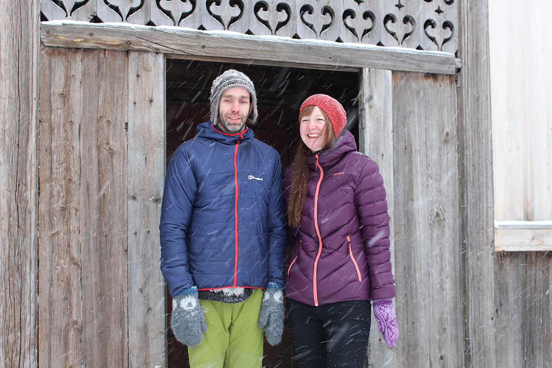 Mari og Mathias Snerle