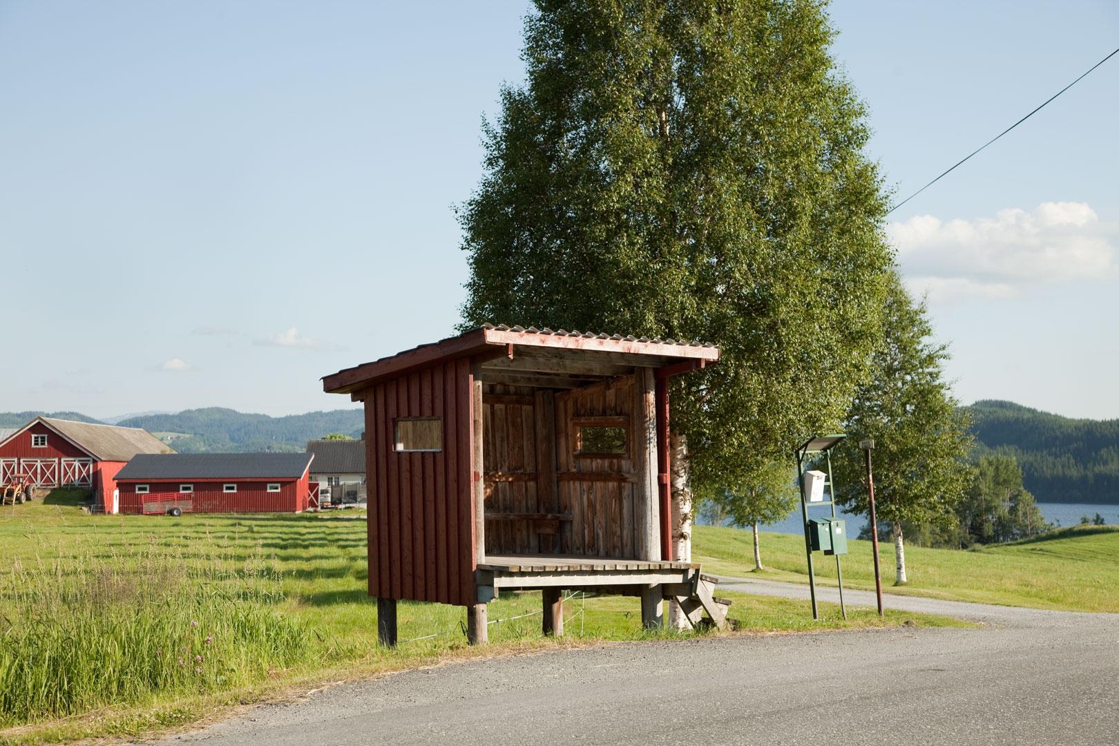 En av de sju melkerampene i Selbu i Sør-Trøndelag som ble fredet i forbindelse med prosjektet «Dagliglivets kulturminner» i 2009.Foto: Birger Linstad / Riksantikvaren