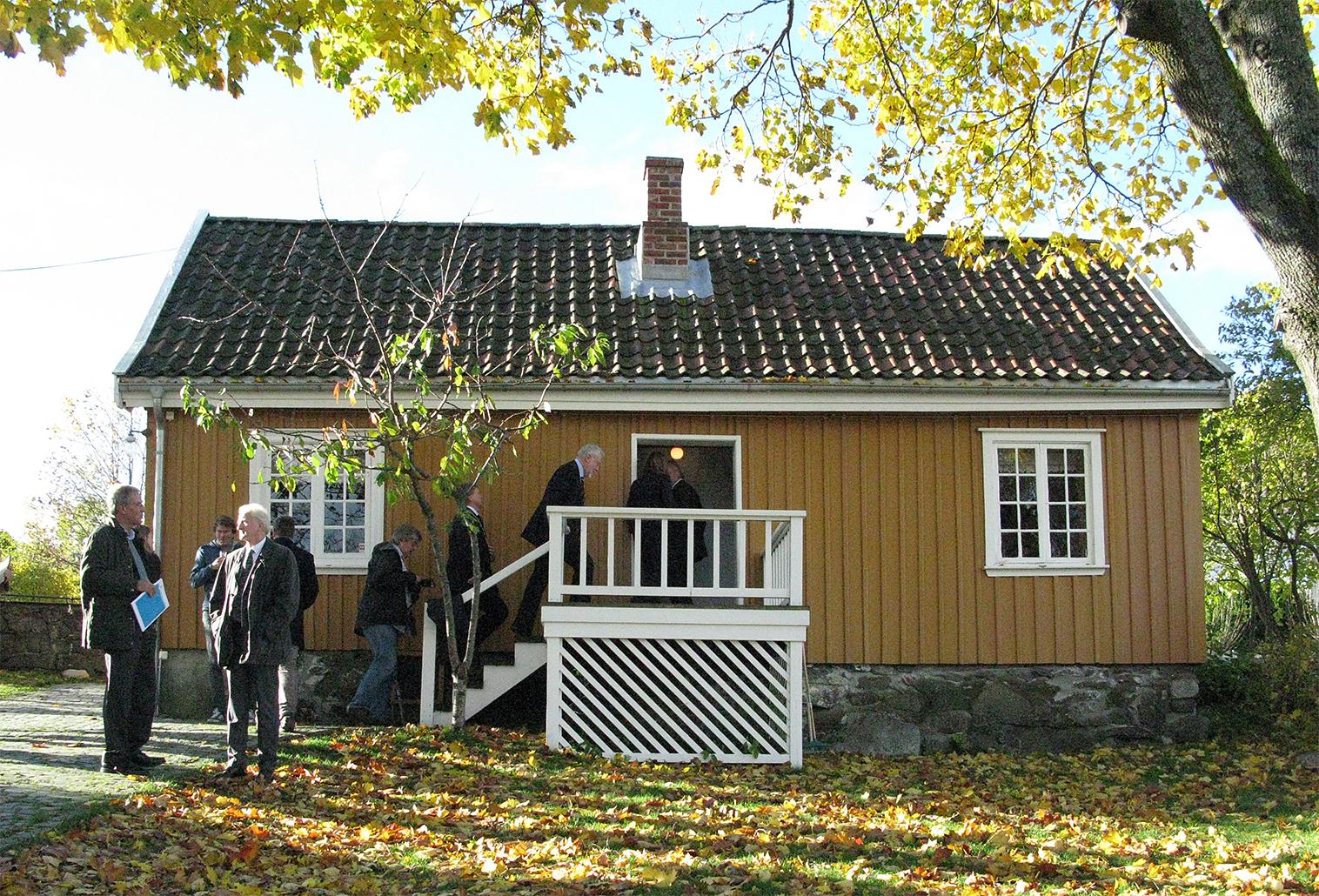Bolighusets østfasade mot hagen. Foto: Ingeborg Magerøy Riksantikvaren