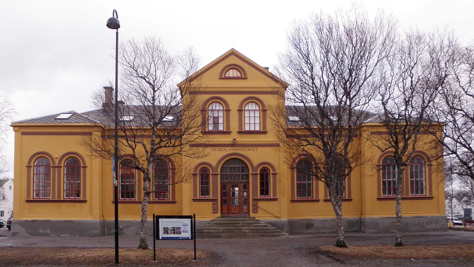 Nordlandsmuseet Prinsensgt. 116. Foto: Manxruler Wikimedia Commons CC BY-SA 3.0
