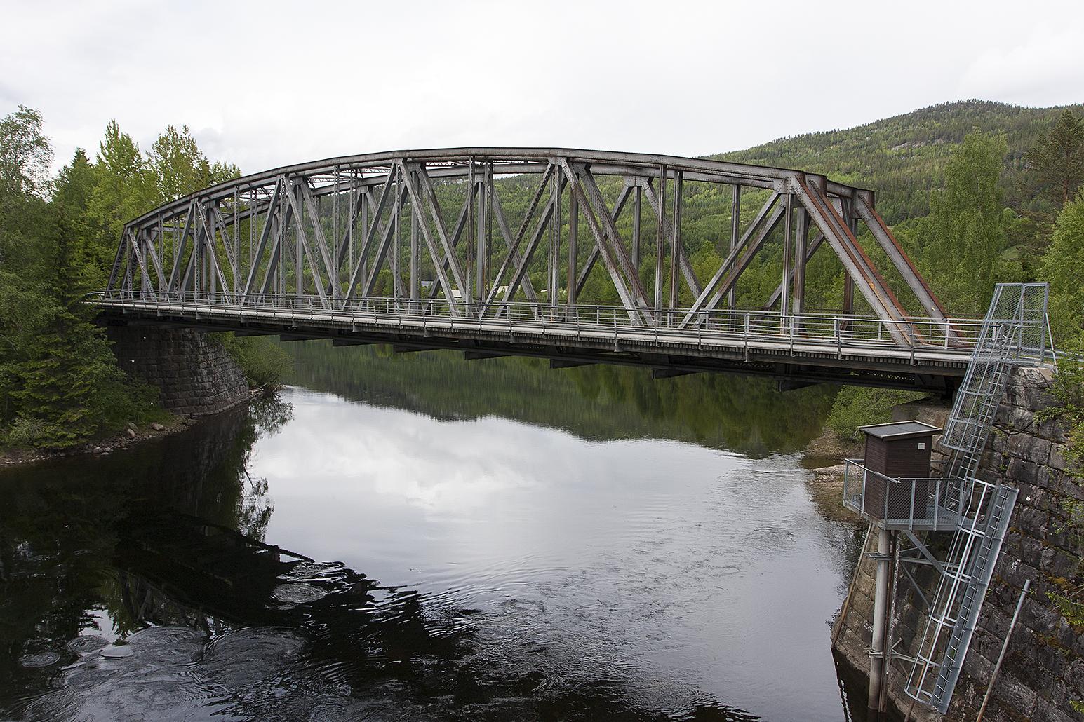 Bruhaug bru Numedalsbanen. Foto: Ulf Ingmar Gustafsson Riksantikvaren