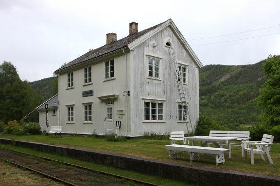 Gvammen stasjon Numedalsbanen. Foto: Ulf Ingmar Gustafsson Riksantikvaren