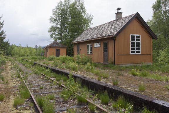 Tråen stasjon Numedalsbanen. Foto: Ulf Ingmar Gustafsson Riksantikvaren