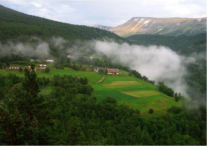 """""""Fjellgardane og seterdalane i Øvre Sunndal """" er et av de to utvalgte områdene i Møre og Romsdal. Foto: Fylkesmannen i Møre og Romsdal"""