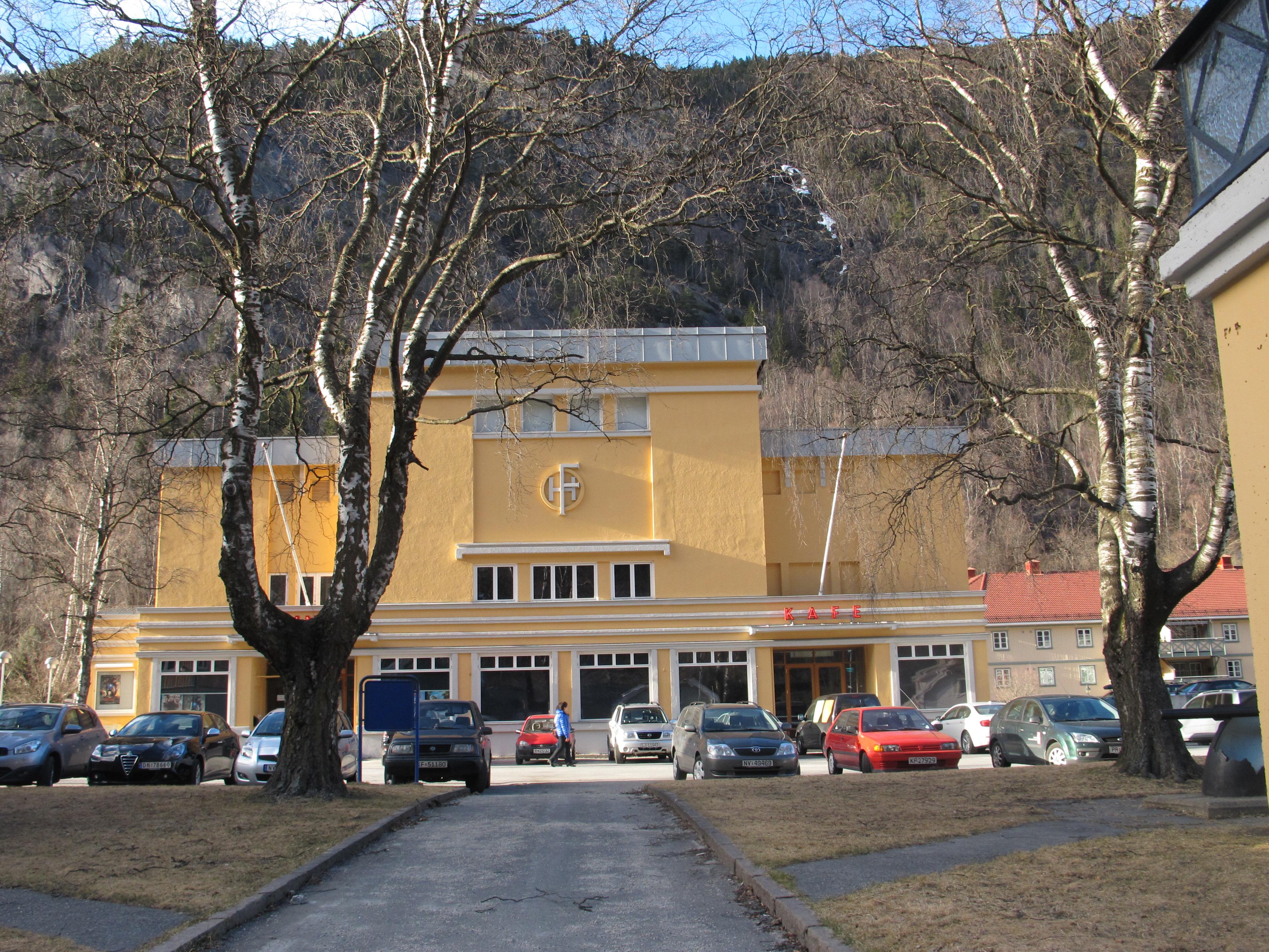 Rjukanhuset. Foto: Trond Taugbøl Riksantikvaren