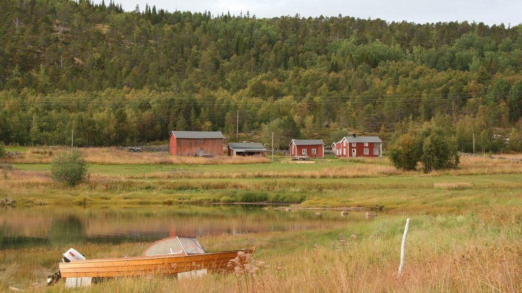 Rørvik gård i Tysfjord kommune i Nordland. Foto: Siv Nytrøen Leden Riksantikvaren