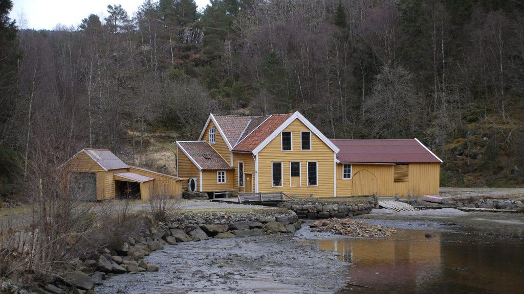 Sellevåg treskofabrikk. Foto: Ulf Ingemar Gustafsson Riksantikvaren