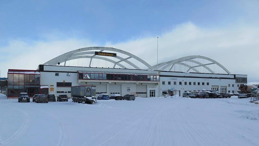 Hangaren på tidligere Skattøra sjøflystasjon. Foto: Troms fylkeskommune