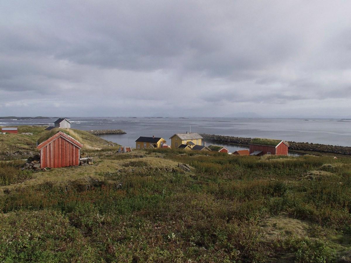 Skjærvær er en del av verdensarvområdet Vegaøyan. Foto: Jon Brænne / Riksantikvaren