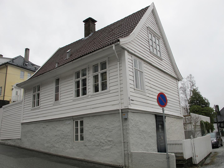 Svartediksveien 7 Bergen. Foto: Monika Rusten Riksantikvaren