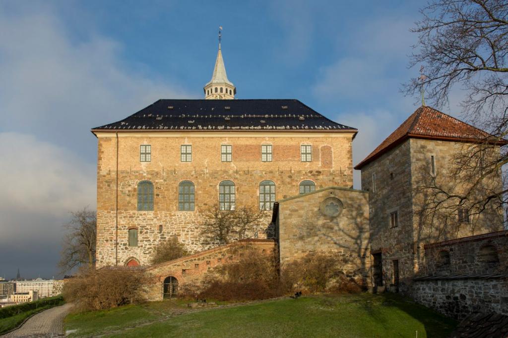 Bilde av - sydfløyen av Akershus. Foto: Dagfinn Rasmussen, Riksantikvaren