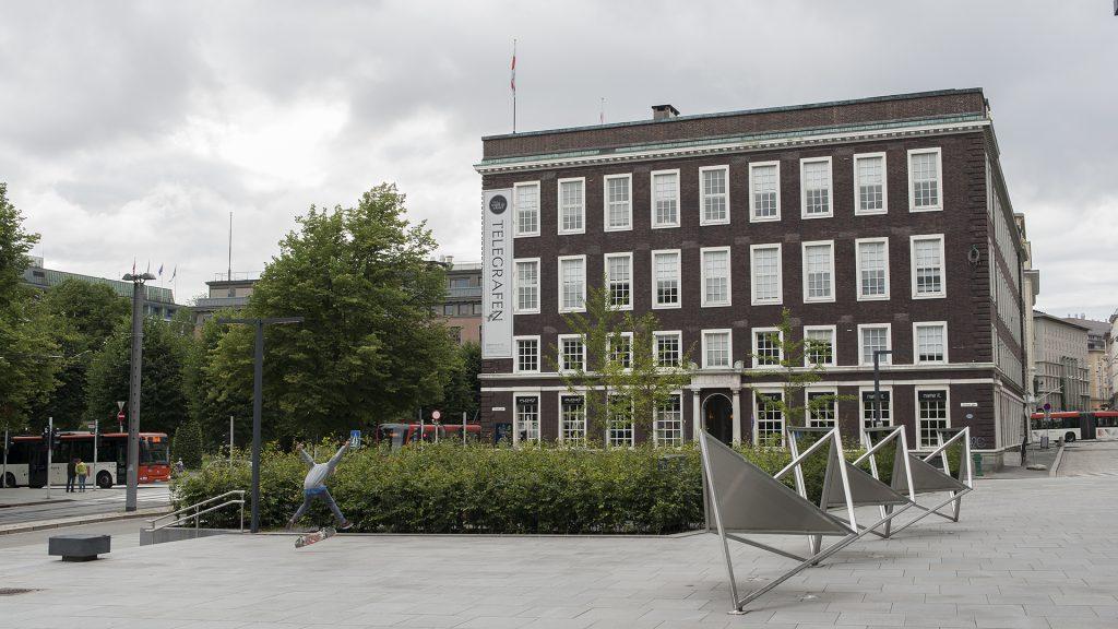 Telegrafbygningen i Bergen. Foto: Arve Kjersheim Riksantikvaren