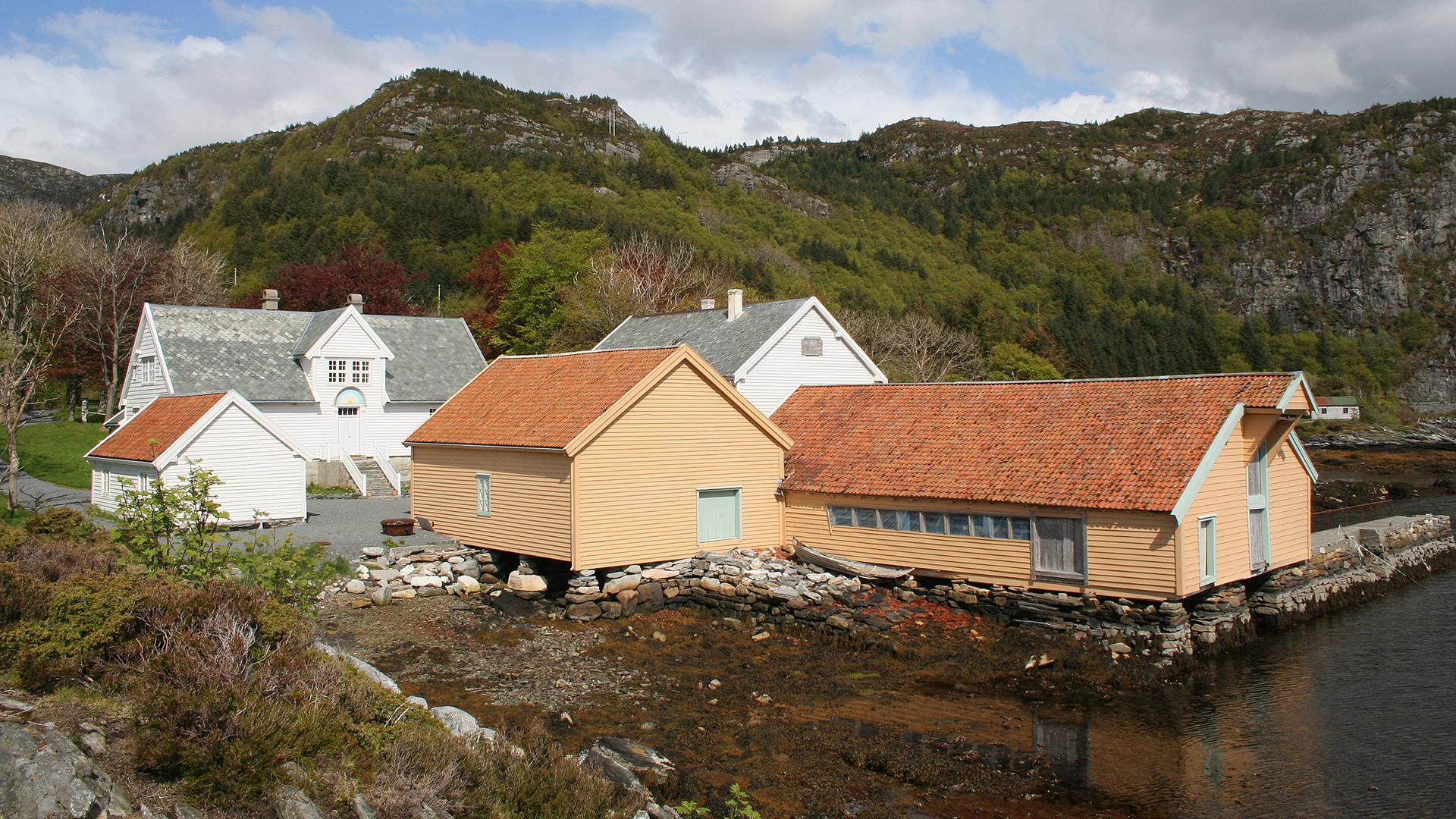 Vågsberget i Vågsøy Sogn og Fjordane. Foto: Geir Olav Gram Riksantikvaren