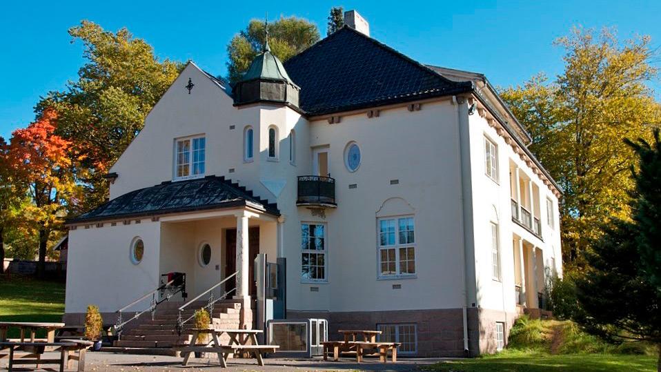 Bilde av villa solheim, som var tidligere en spesialskole. Foto: Riksantikvaren