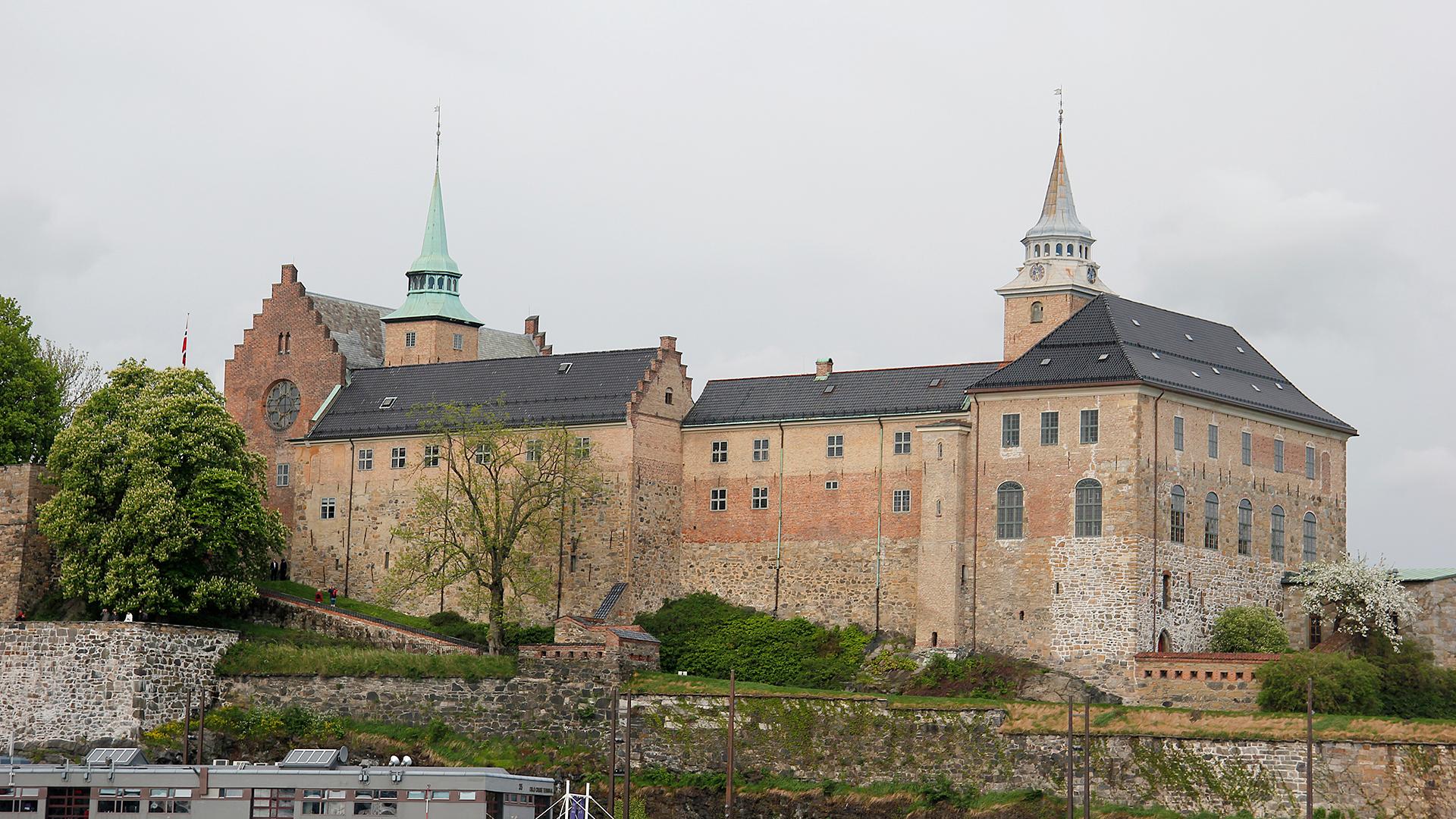 Akershus Festning sett fra sjøsiden. Foto: Dagfinn Rasmussen, Riksantikvaren.