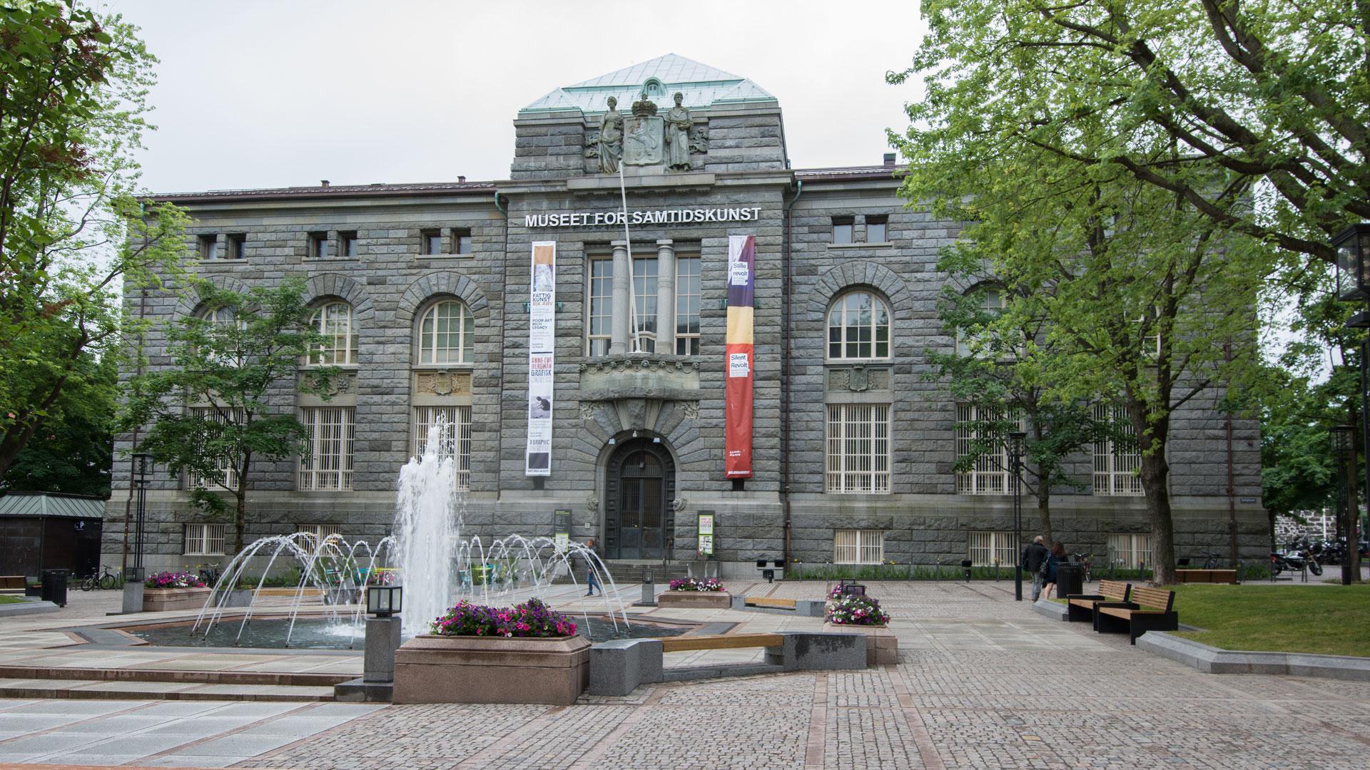 Bilde av Norges Banks tidligere hovedkontor på Bankplassen 4 i Oslo huser i dag Museet for samtidskunst. Foto: Dagfinn Rasmussen, Riksantikvaren