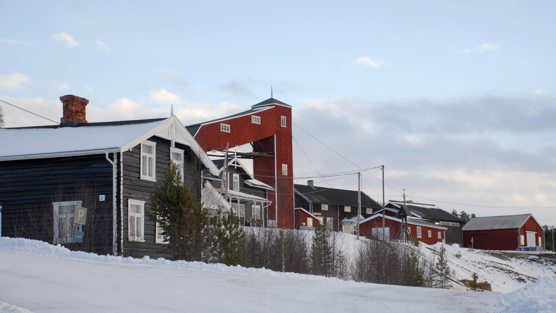 Bilde av Folldal gruver i Hedmark. Foto: Ulf Ingemar Gustafsson, Riksantikvaren