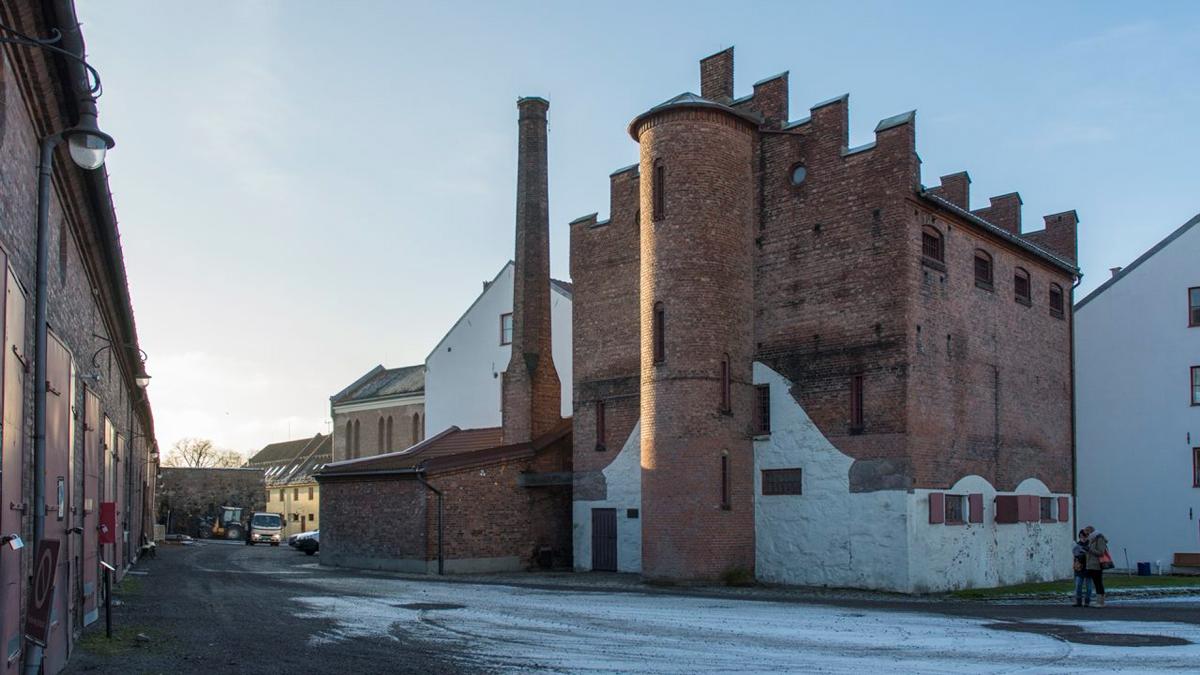 Bilde av ytre festningsområde til Akershus Festning. Foto er tatt av Dagfinn Rasmussen, Riksantikvaren