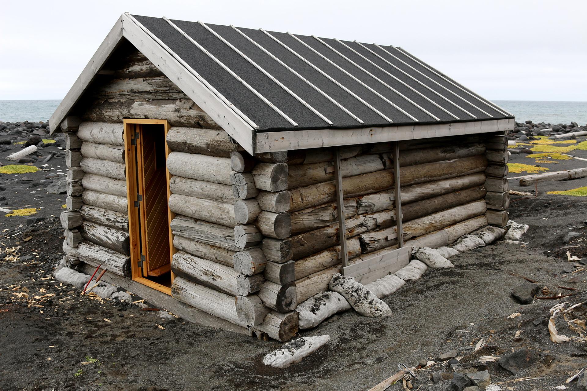 Bilde av Badstua i Nordlaguna. Foto: Karen Thommesen, Riksantikvaren