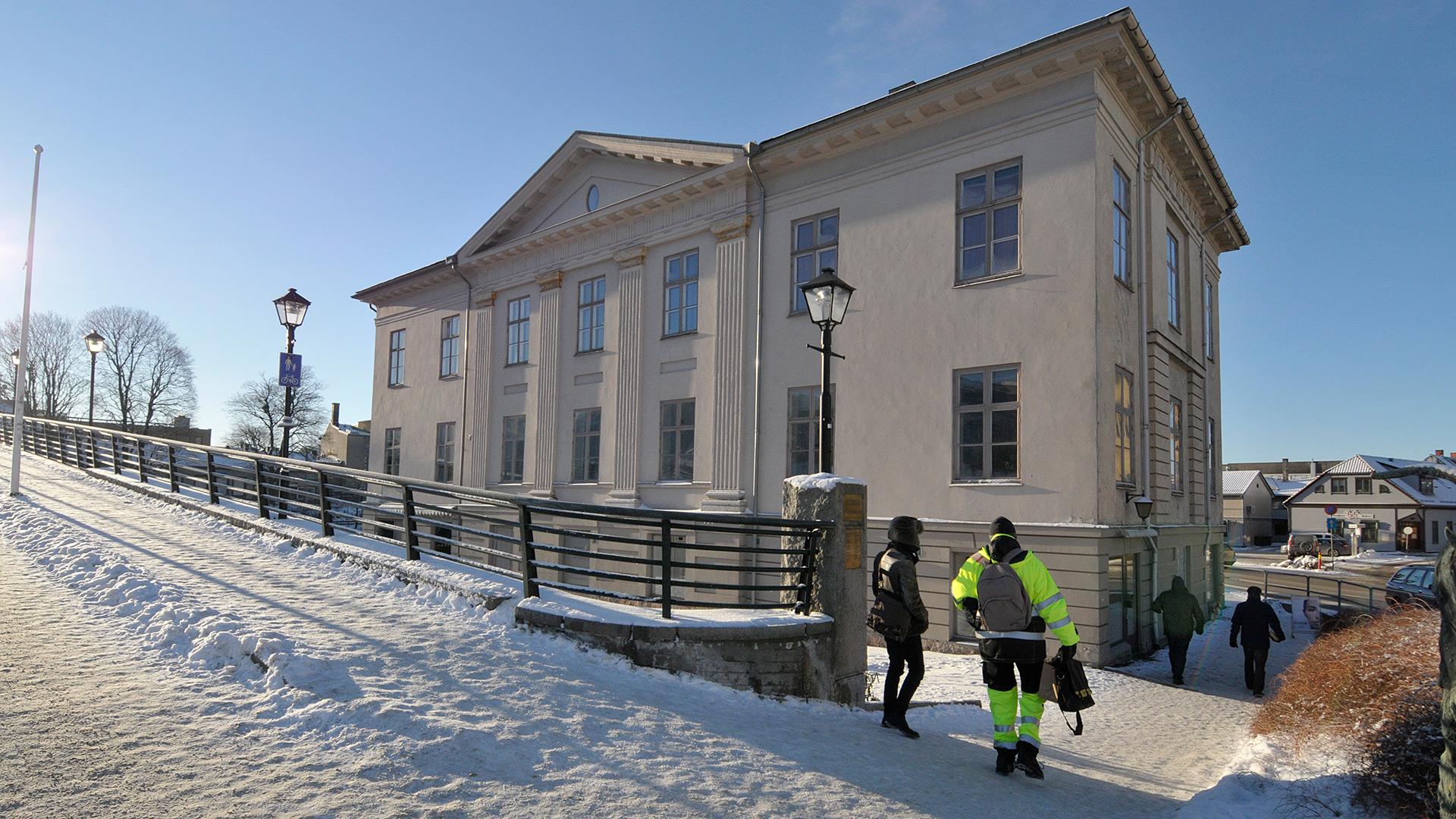 Bilde av Kongegården. Foto: Leif Anker, Riksantikvaren