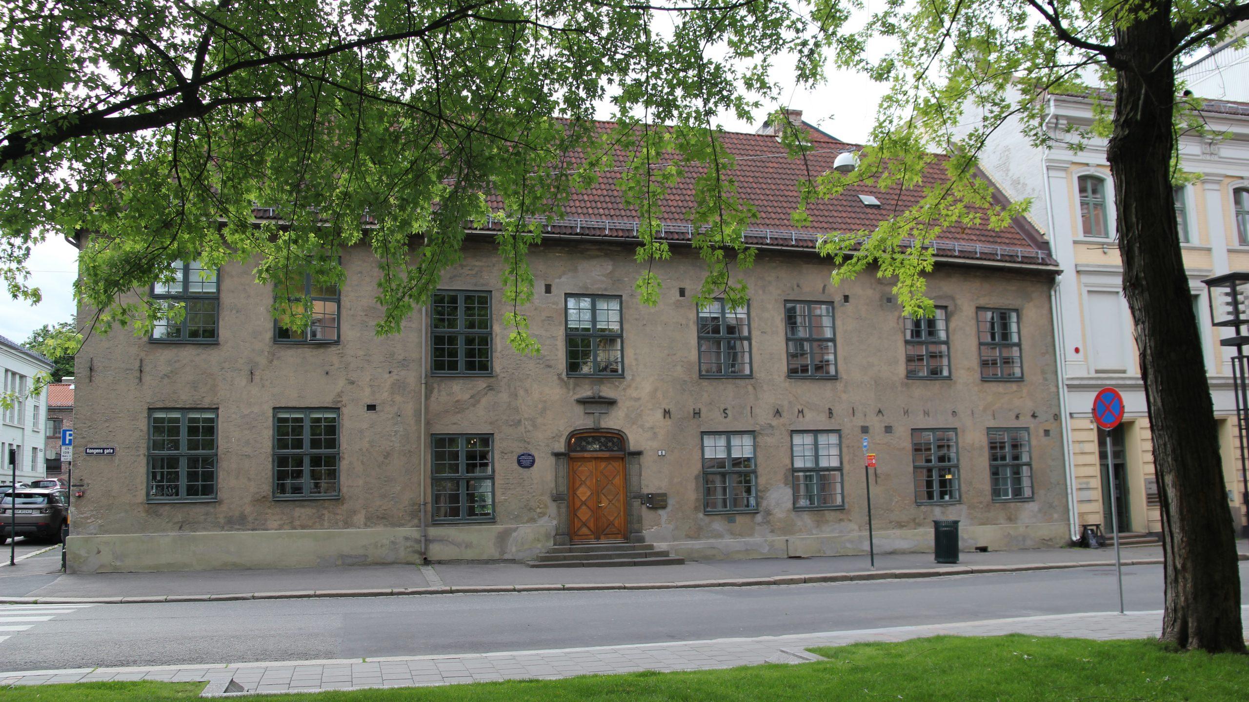 Bilde av Kongens Gate 1 Oslo. Foto: Ingrid Melgård, Riksantikvaren