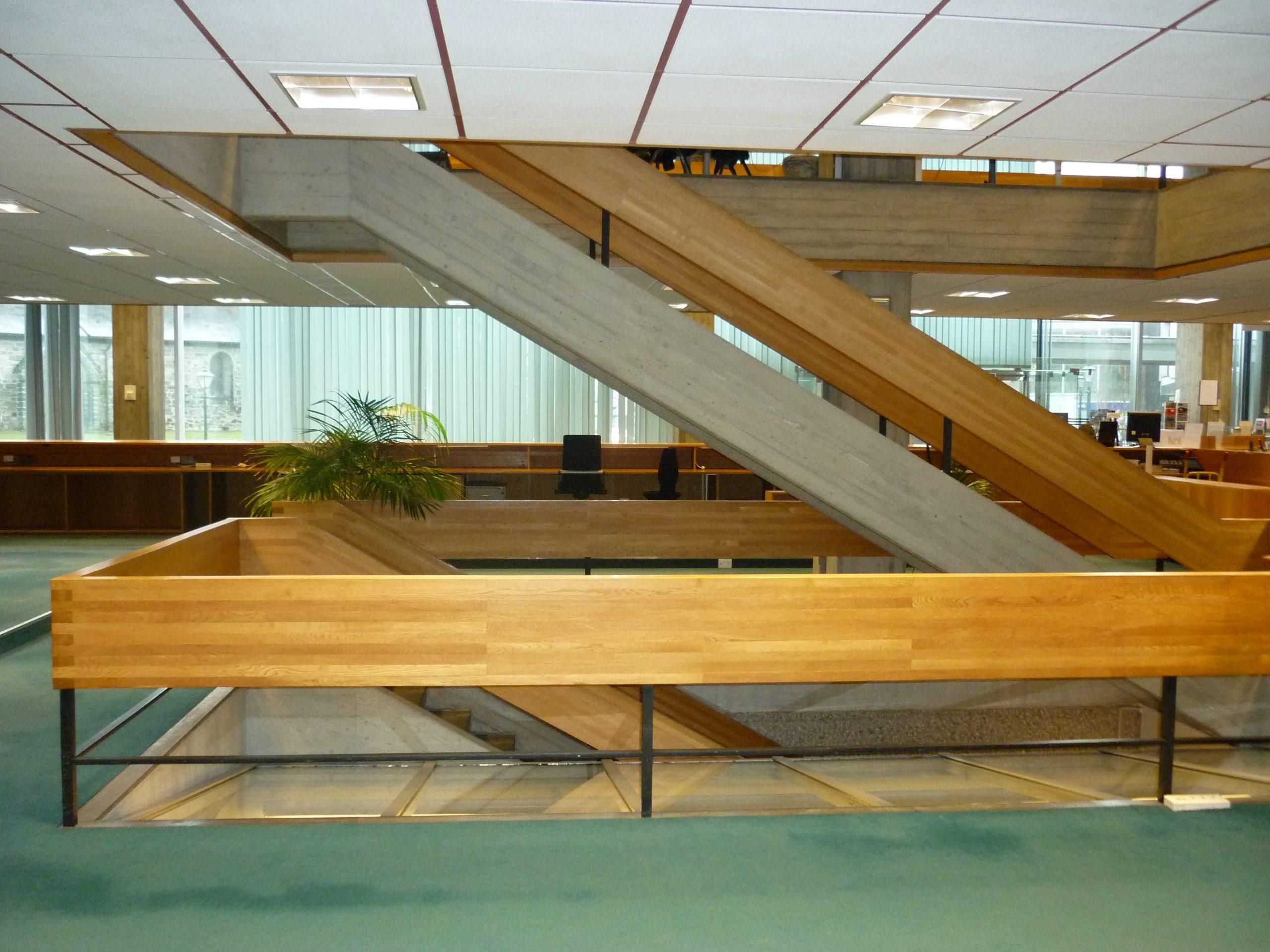 Bilde av Interiør i 1. etasje med godt lysinnslipp. Foto: Siri Schrøder Vesterkjær ©Riksantikvaren