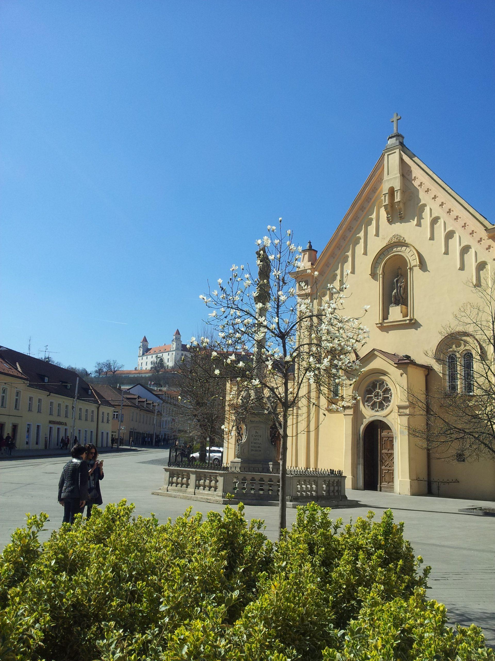 Kapuchin-kirken i Bratislava
