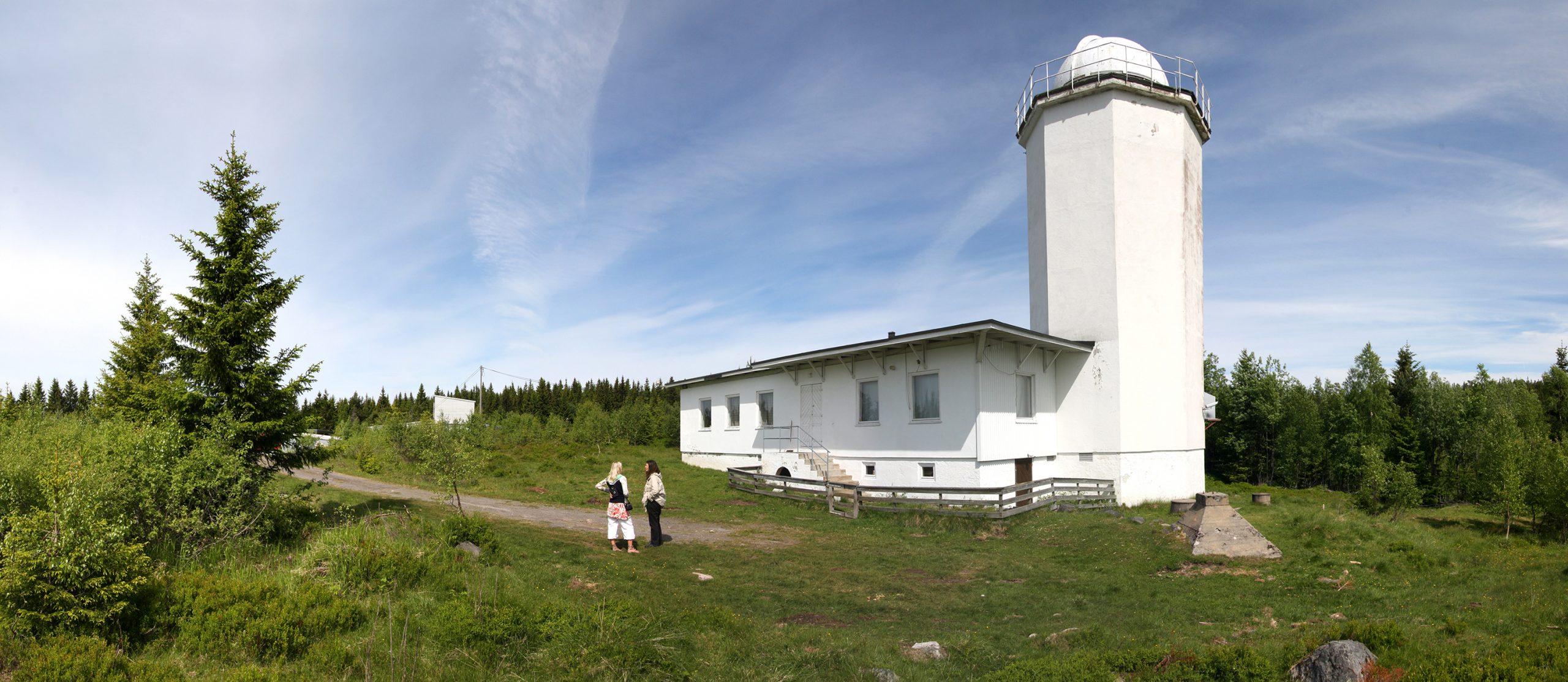 Bilde av Solobservatoriet. Foto: Snøhetta