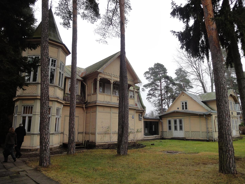 Bilde av slik sommerhuset så ut i 2011. Foto: Noelle Dahl-Poppe, Riksantikvaren