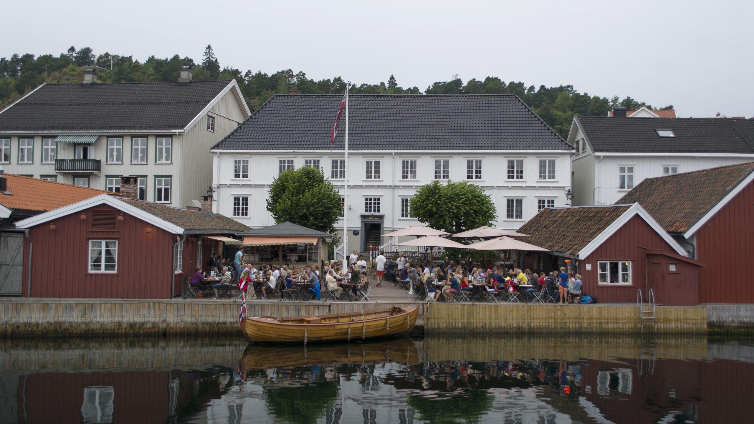 Bilde av Tollboden i Kragerø. Foto: Dagfinn Rasmussen, Riksantikvaren
