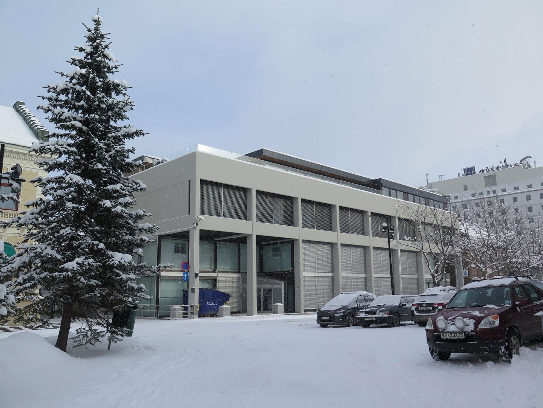 Bilde av Norges Banks tidligere avdelingskontor i Tromsø. Foto: Cathrine Skredderstuen Rolland , Riksantikvaren