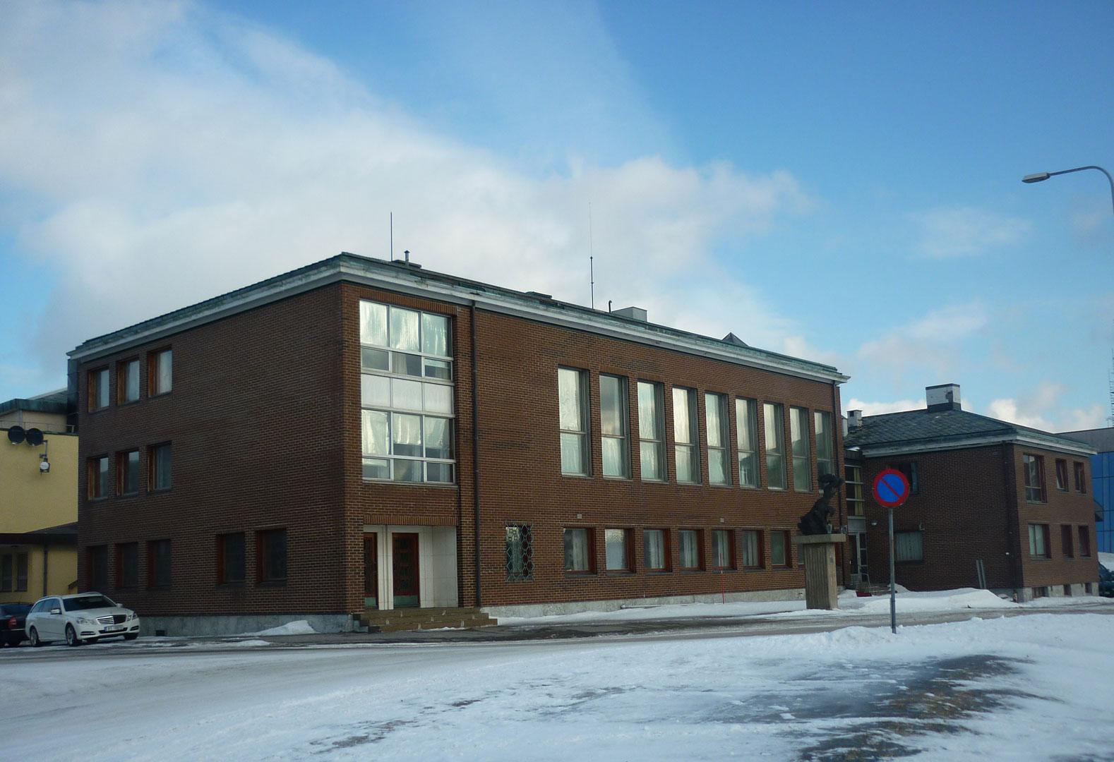 Bilde av Norges Banks tidligere avdelingskontor i Vardø. Foto: Siri Schrøder Vesterkjær, Riksantikvaren