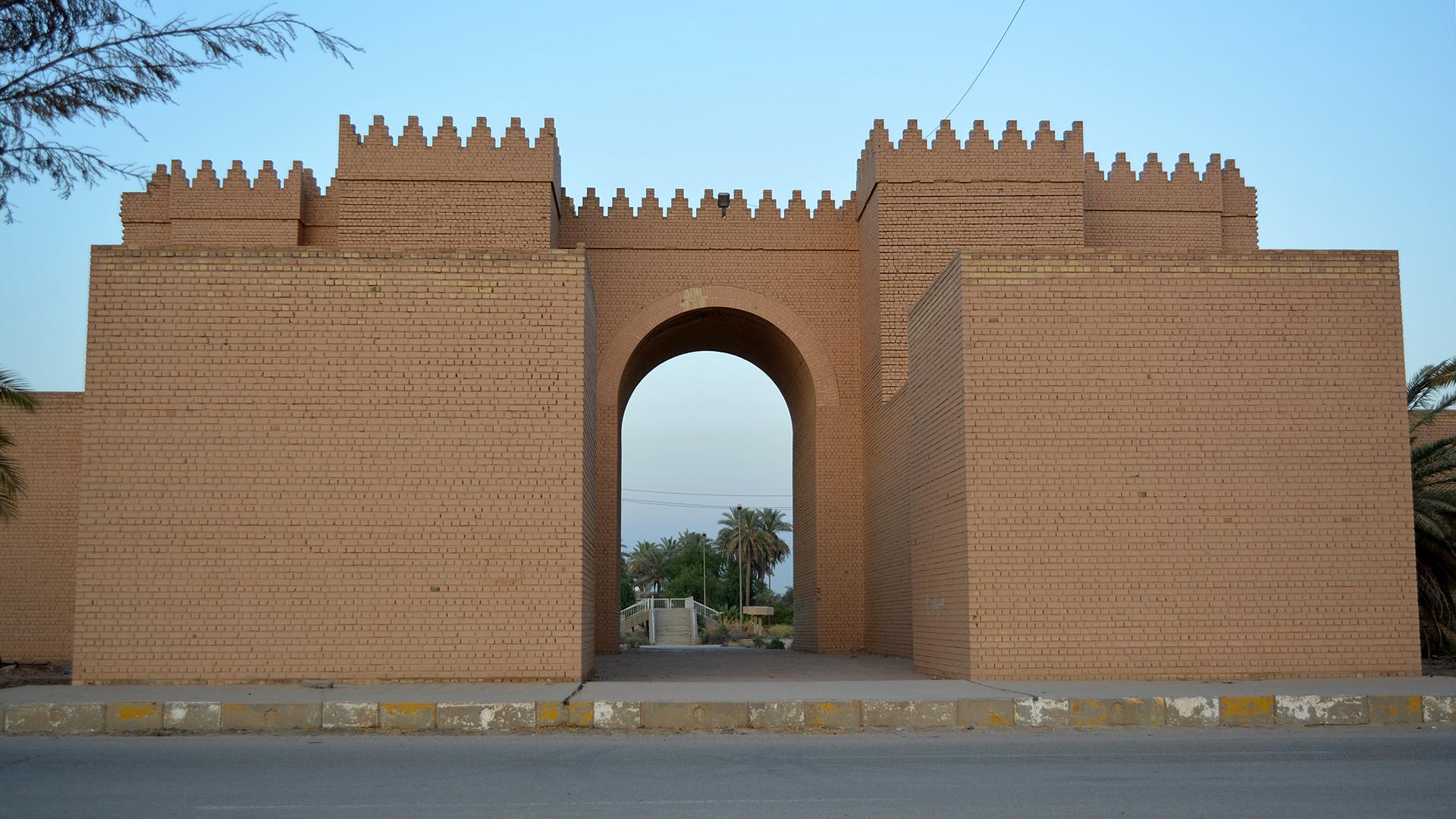 Bildet viser Babylon i Irak, ett av 29 nye verdensarvområder. Foto tatt av Qathan Al-abeed