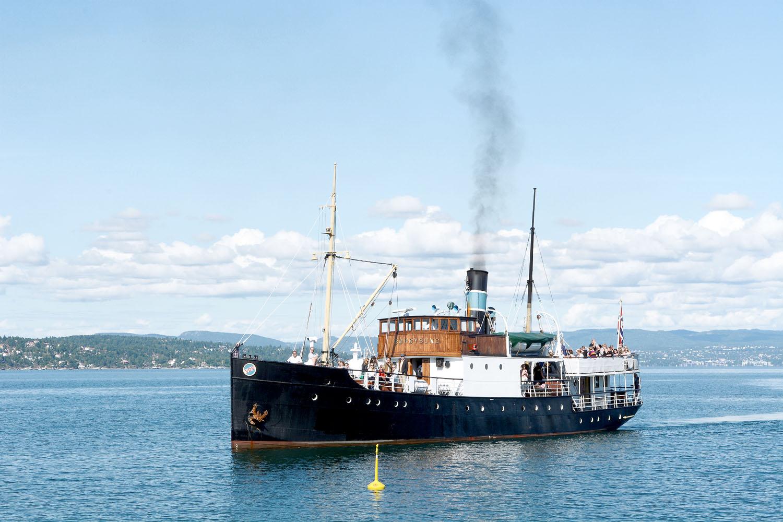 Foto av båten DS Børøysund