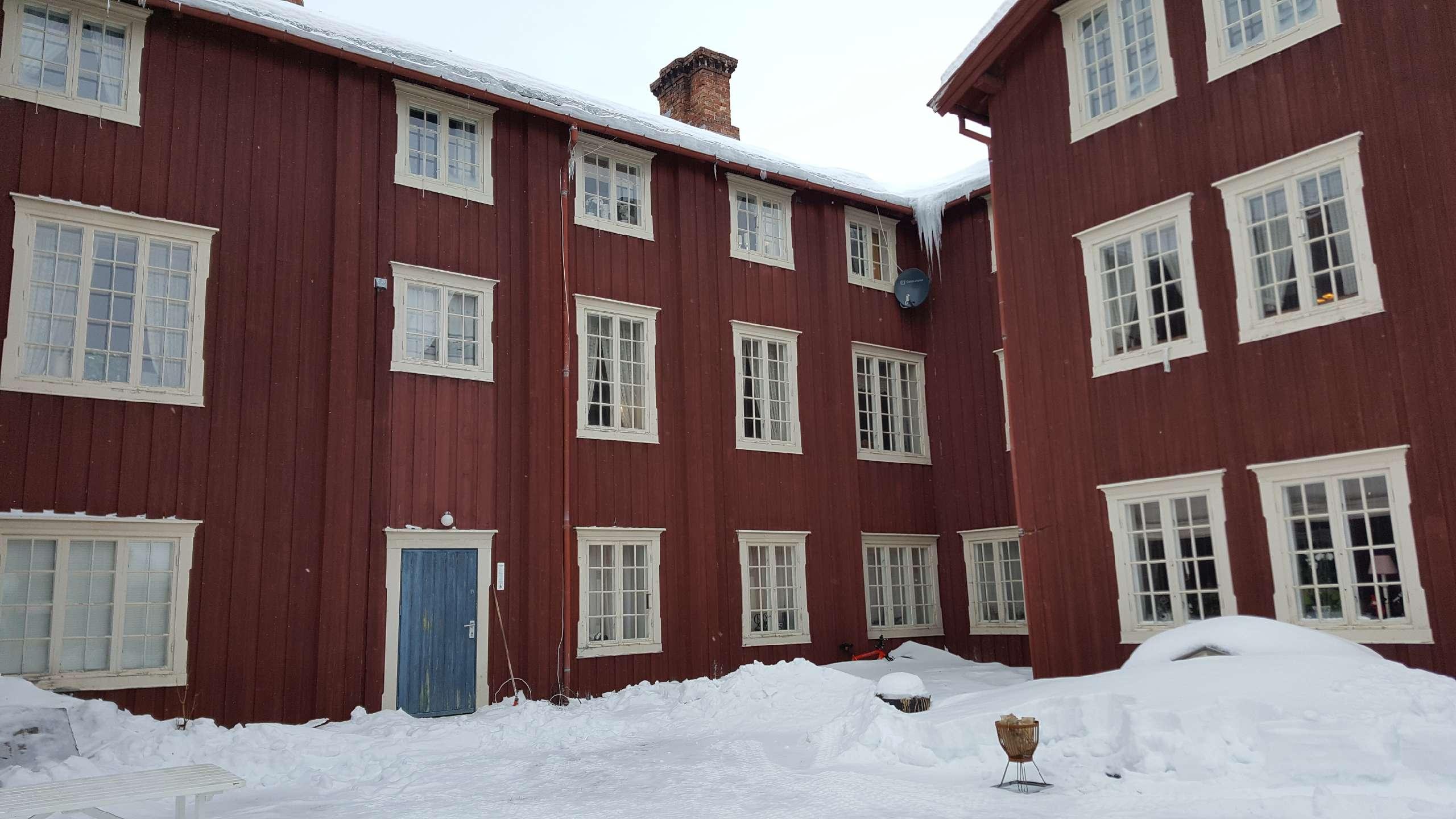 Bilde av Gårdsrommet på Finnegården. Foto er tatt av Ingrid Melgård, Riksantikvaren