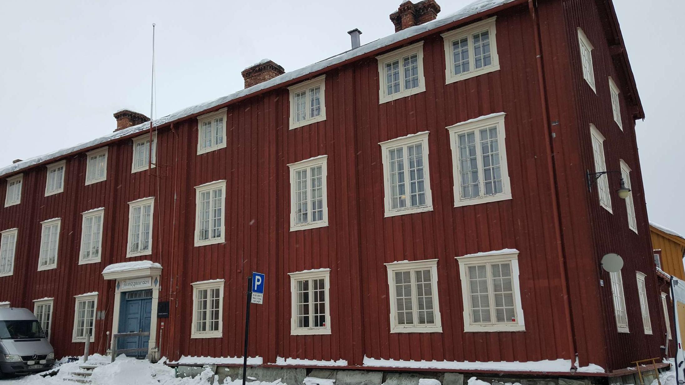 Bilde av Finnegården på Røros. Foto er tatt av Ingrid Melgård, Riksantikvaren