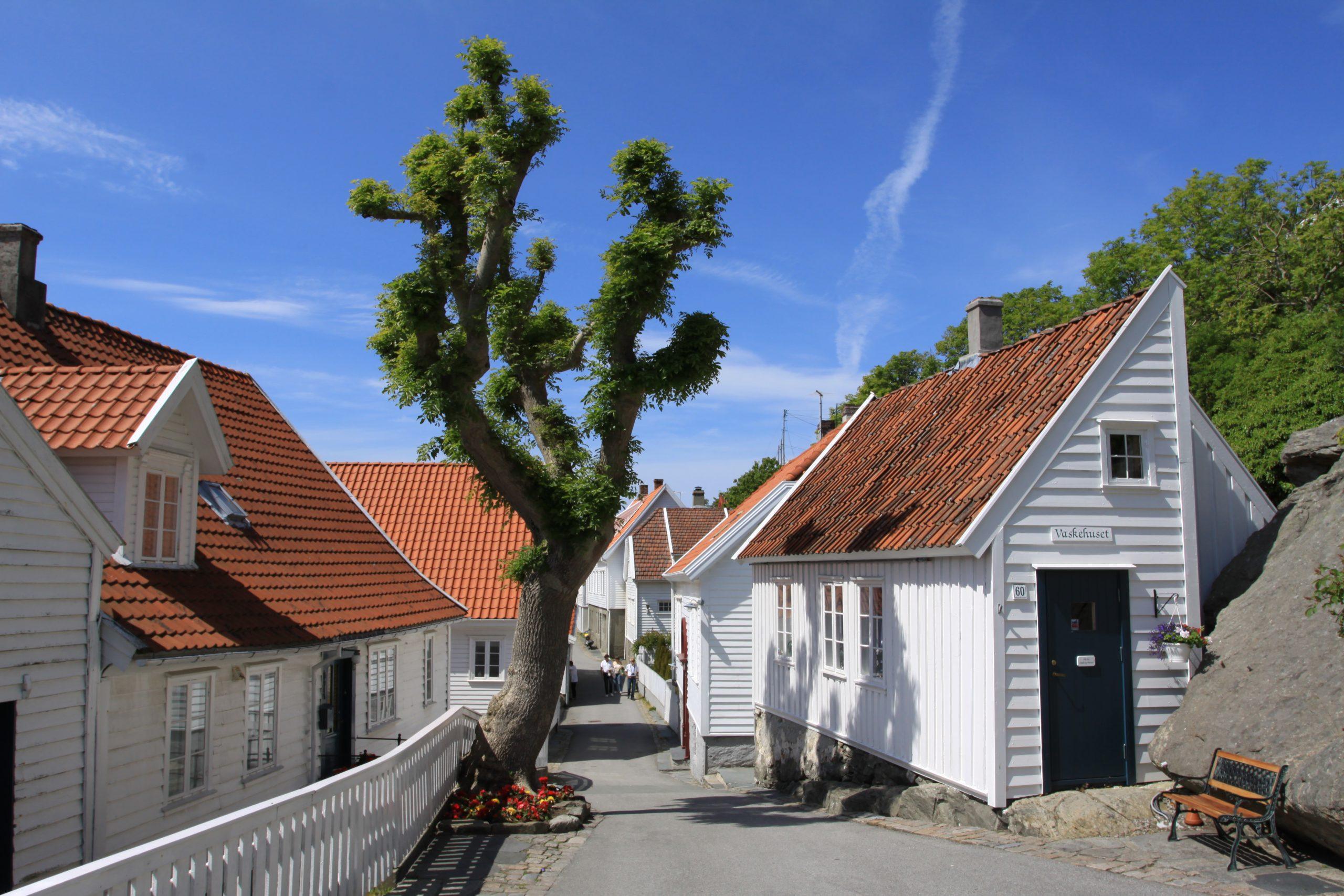 Bilde Frå Skudeneshavn. Foto: Ørjan B. Iversen