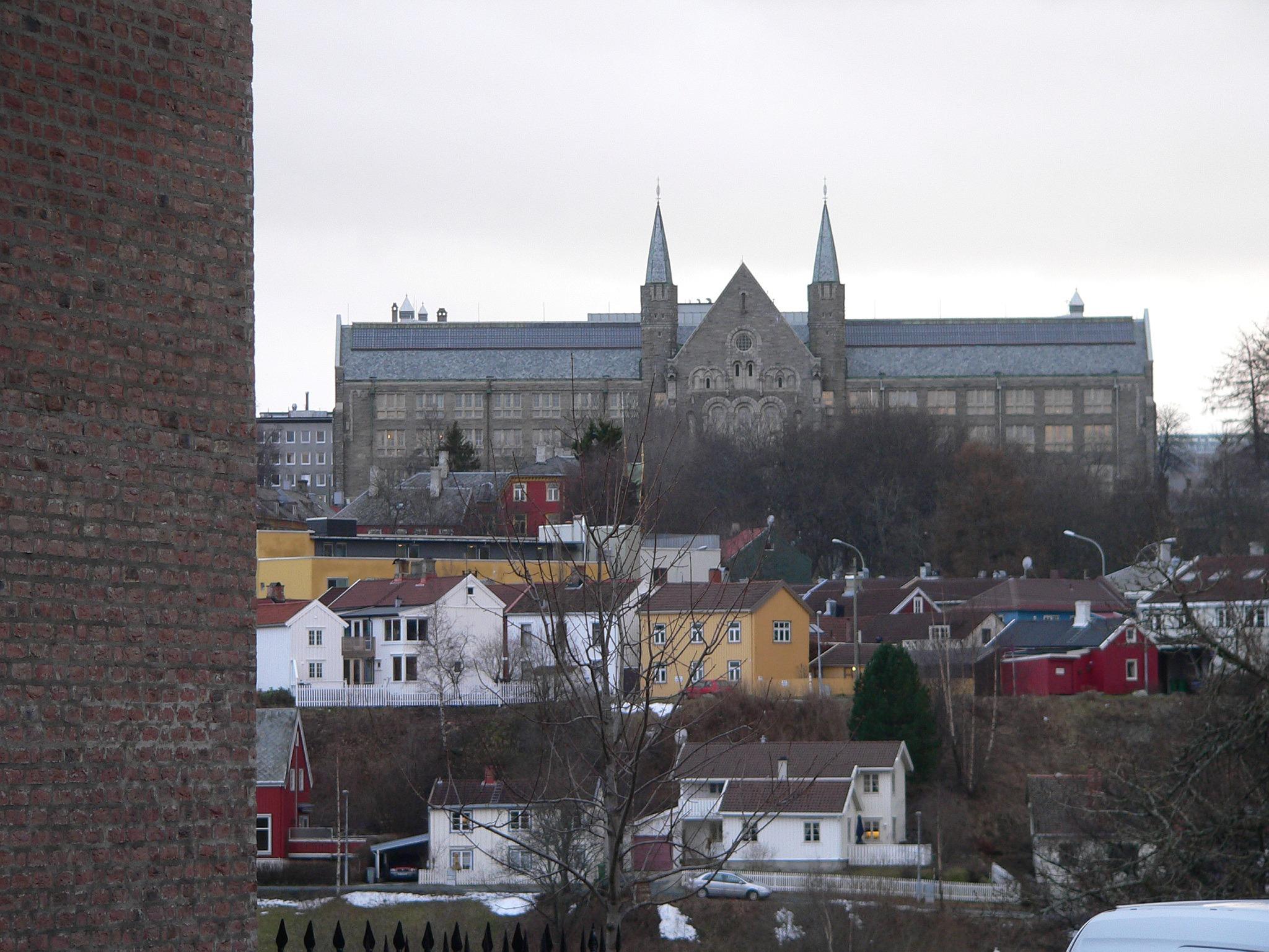 Gløshaugen på NTNU i Trondheim