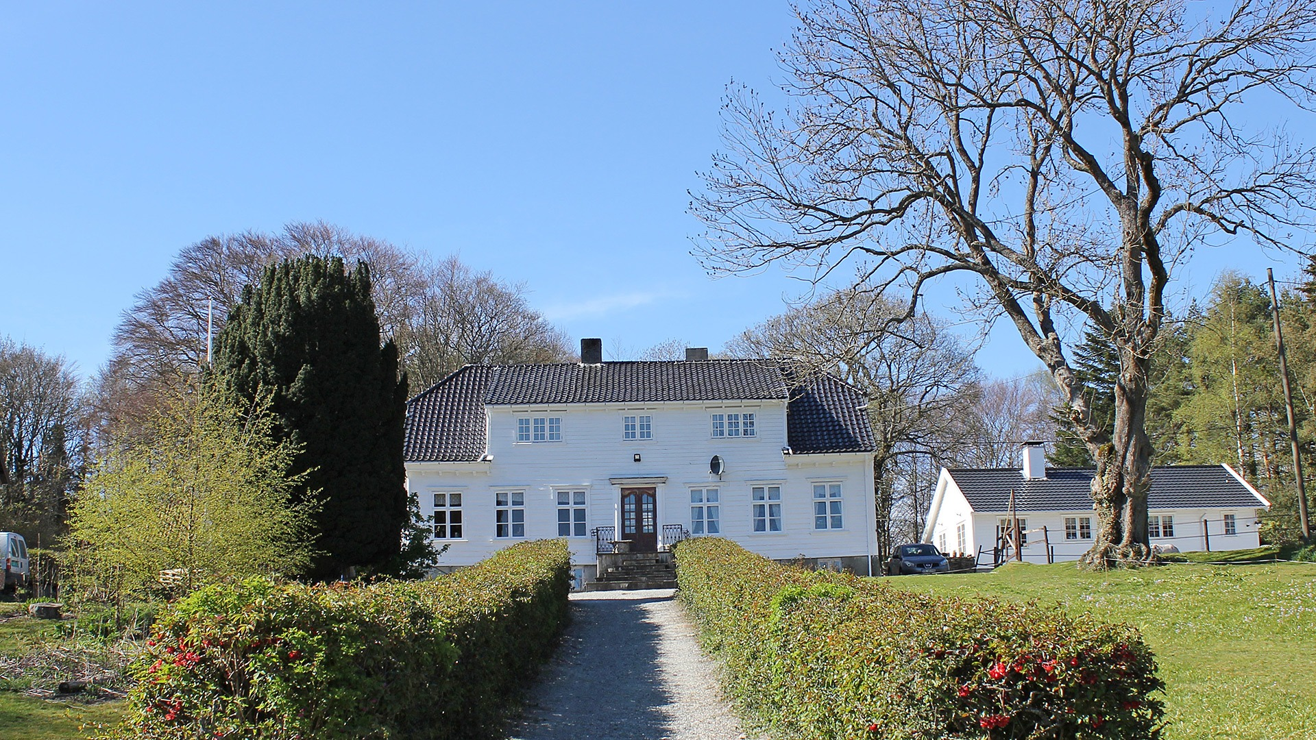 Bilde av Hindal gård i Stavanger kommune. Foto: Per David Martinsen, Riksantikvaren