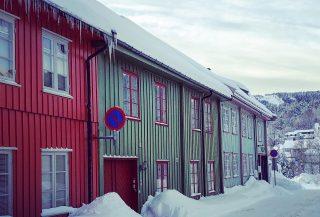 Bildet viser Kongsberg som er en av kommunene som får penger i år. Foto tatt av Byantikvar Hilde Roland