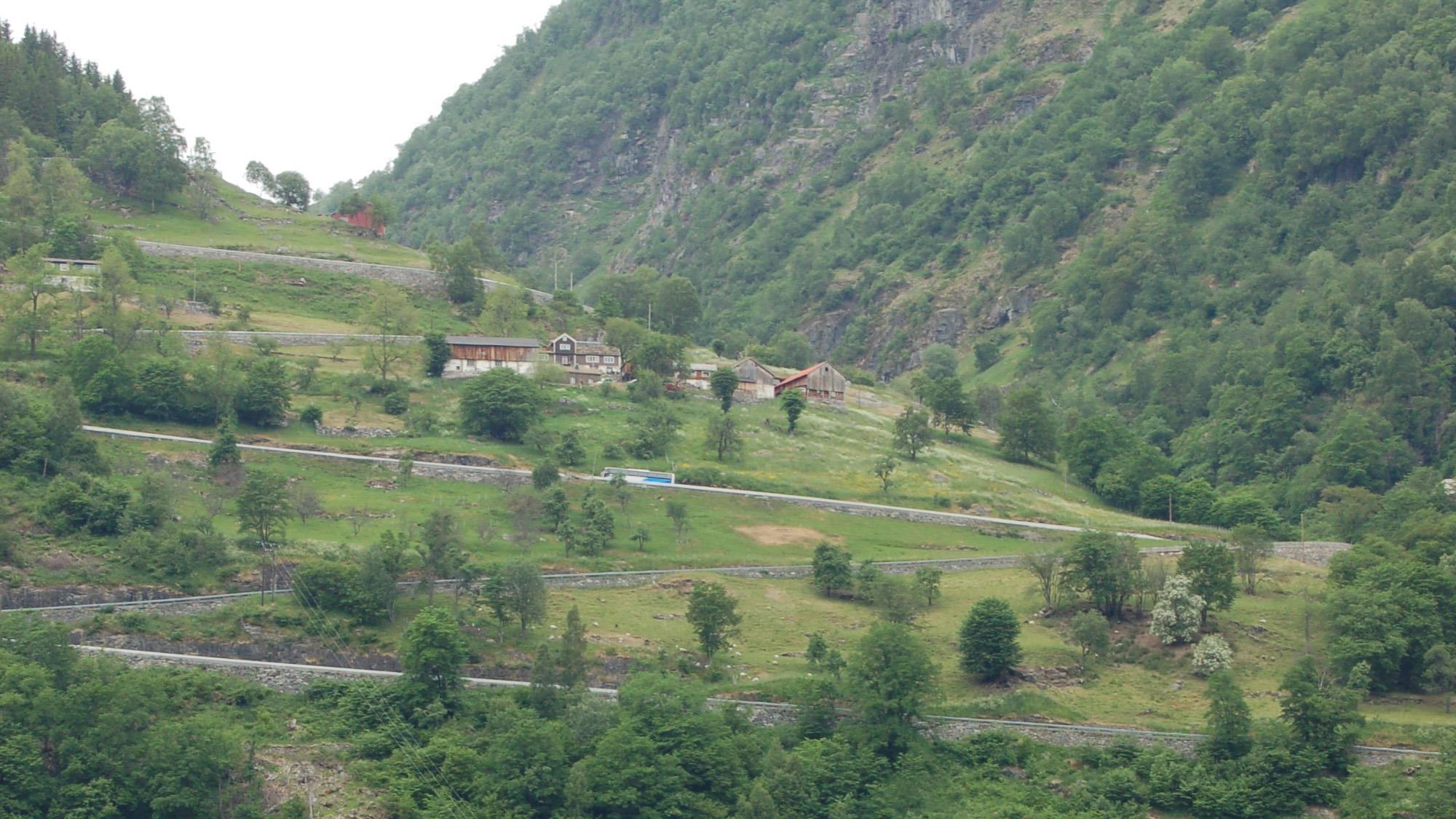Bilde av Mølltunet med Ørnevegen. Foto: Møre og Romsdal fylkeskommune